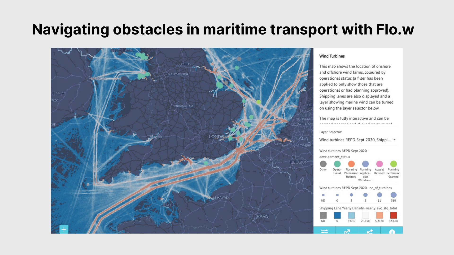 Navigating obstacles in maritime transport with Flo.w