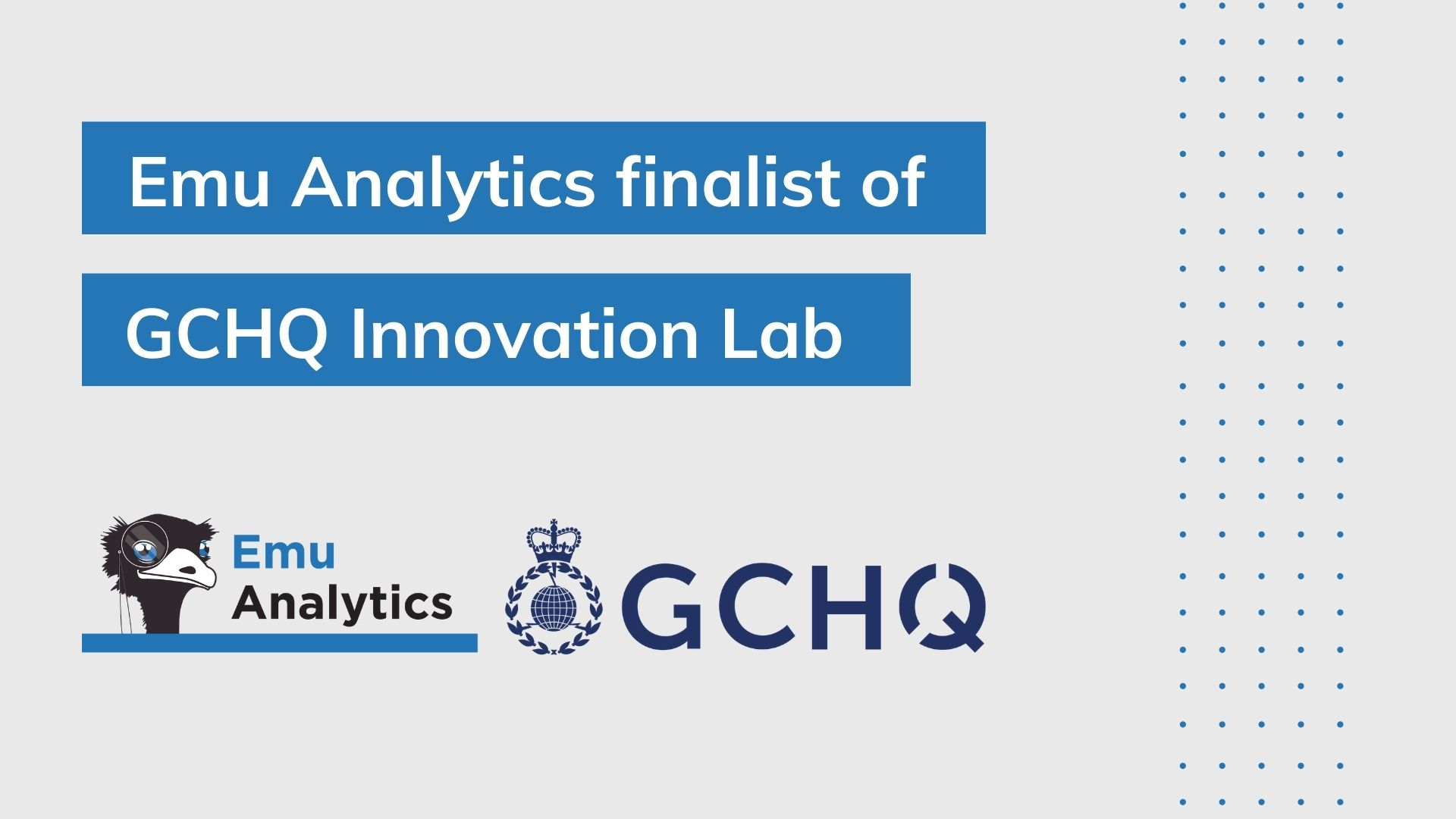 Innovation journey with GCHQ culminates in Accelerator Demo Day