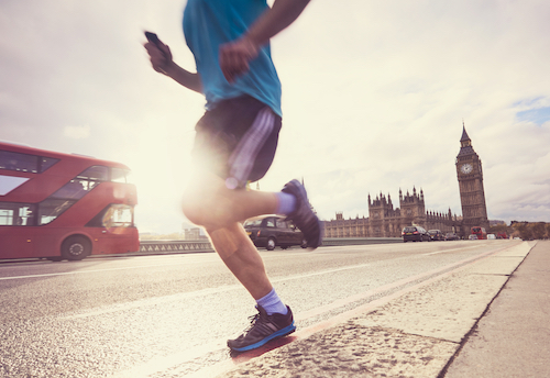 PHEIDIPPIDES AND LONDON'S SORE KNEES