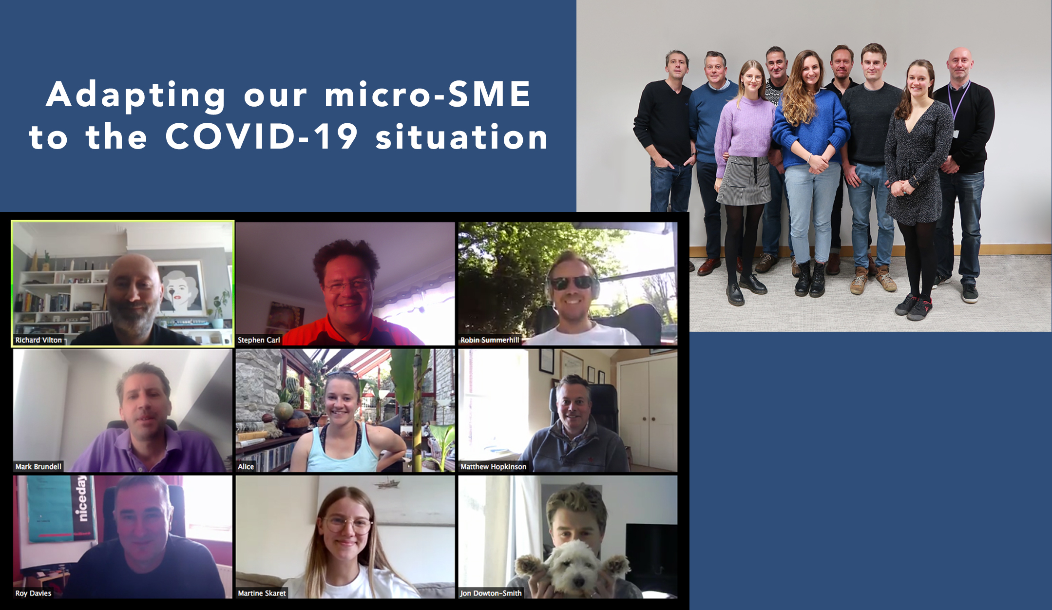 Adapting our micro-SME to the COVID-19 situation - Emu in lockdown