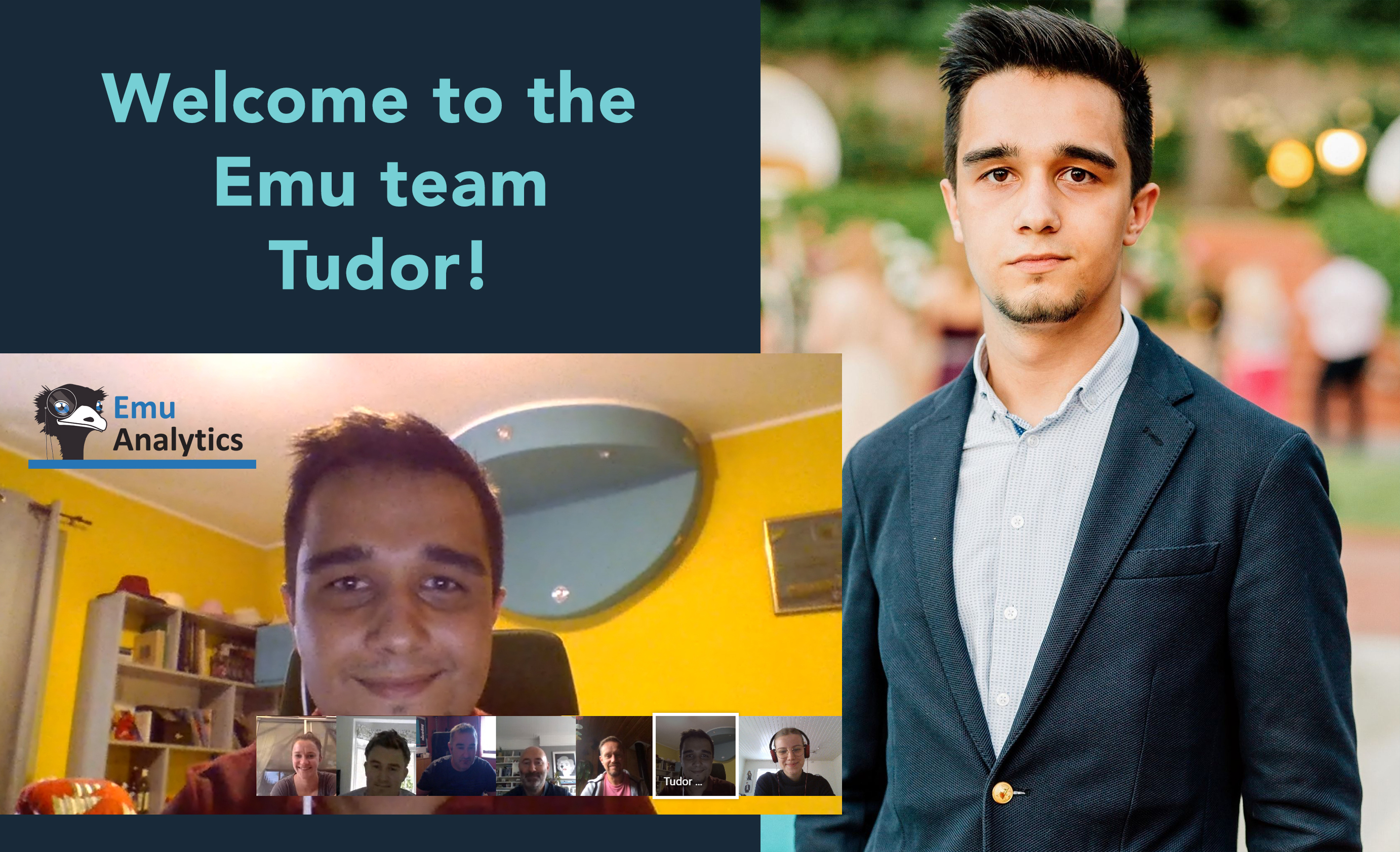 Emu welcomes UCL Q-step intern Tudor to the team