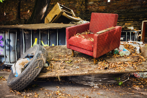 Fly Tipping Incidents in England Rise 40% Since 2012/13 at an Annual Cost of £58m to Councils